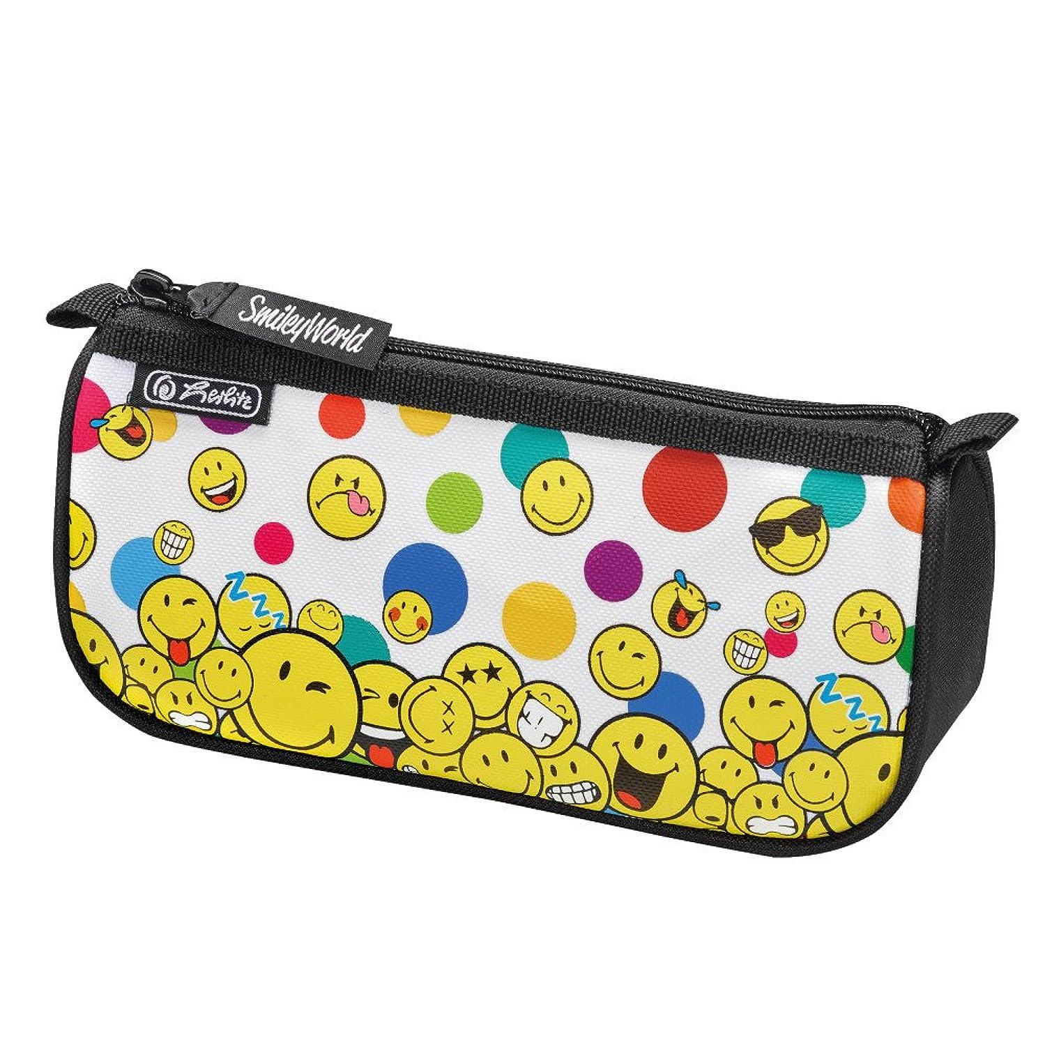 Herlitz Pencil Case, Smiley World Rainbow Faces (Multicolour) - 50015344