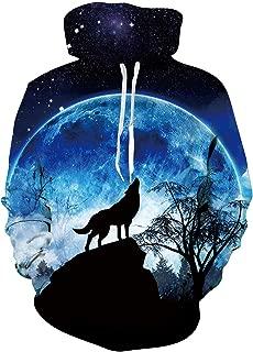 Best wolf hoodie galaxy Reviews