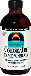 Source Naturals ColloidaLife Trace Minerals & Electrolytes - Fruit Flavored Dietary Supplement - 16 Fluid oz