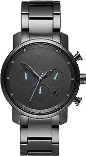 ساعة كرونو 40 ملم مع مينا بلون برونزي وسوار ستانلس ستيل مطلي ايونيًا بالبرونز للرجال من ام في ام تي - D-MC02-GU