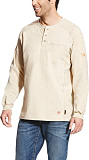 Men's Big and Tall Flame Resistant Air Henley Shirt