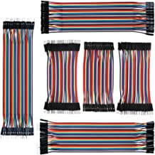 IZOKEE 240pcs 10CM and 20CM Jumper Wire Solderless Breadboard Jumper Wires Male to Female, Male to Male, Female to Female ...