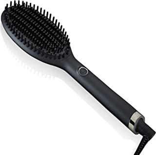 ghd glide - Cepillo eléctrico alisador de pelo con tecnología iónica, Negro