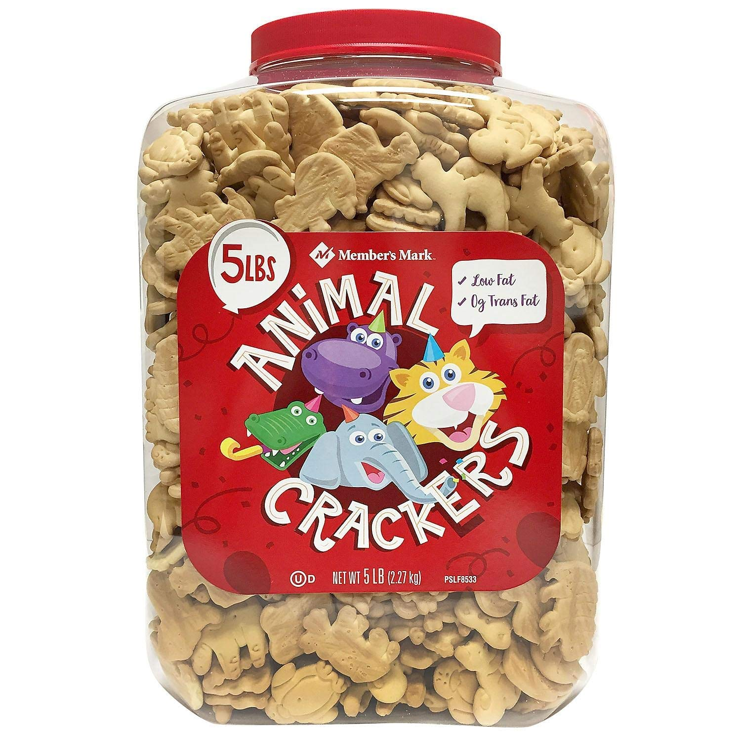 Member's Mark Animal Max 65% OFF Crackers 5 Pack 4 lbs. of excellence -