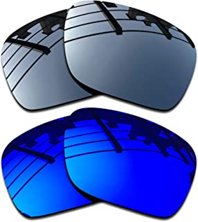 Premium Polarized Mirror Replacement Lenses for Oakley Holbrook OO9102 Sunglasses