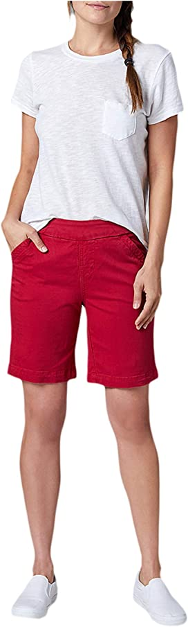 Womens Classic Fit Yoga Short Low Waist Retro Style Whale Silhouette Shorts