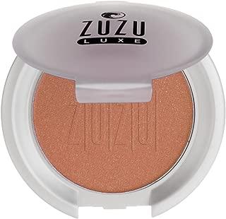 Zuzu Luxe Blush (Bella Donna),0.01 oz,Mineral Blush, Richly pigmented, velvety smooth formula. Natural, Paraben Free, Vegan, Gluten-free, Cruelty-free, Non GMO.