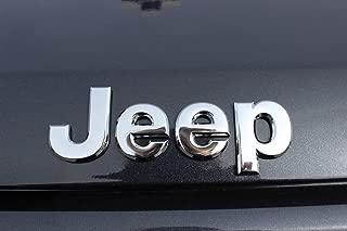 2005-2016 Jeep Wrangler Compass Liberty Chrome Emblem Nameplate Badge Mopar OEM