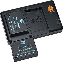 バッテリーパック DMW-BLC12 BLC12E 互換バッテリー 2個 + 充電器 セット (大容量 1700mAh USB 急速充電) Panasonic BP-DC12,Sigma BP-51,V-LUX4,DMC GX8 G85 G7 ...