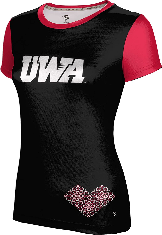 ProSphere University of West Alabama Girls' Performance T-Shirt (Foxy)
