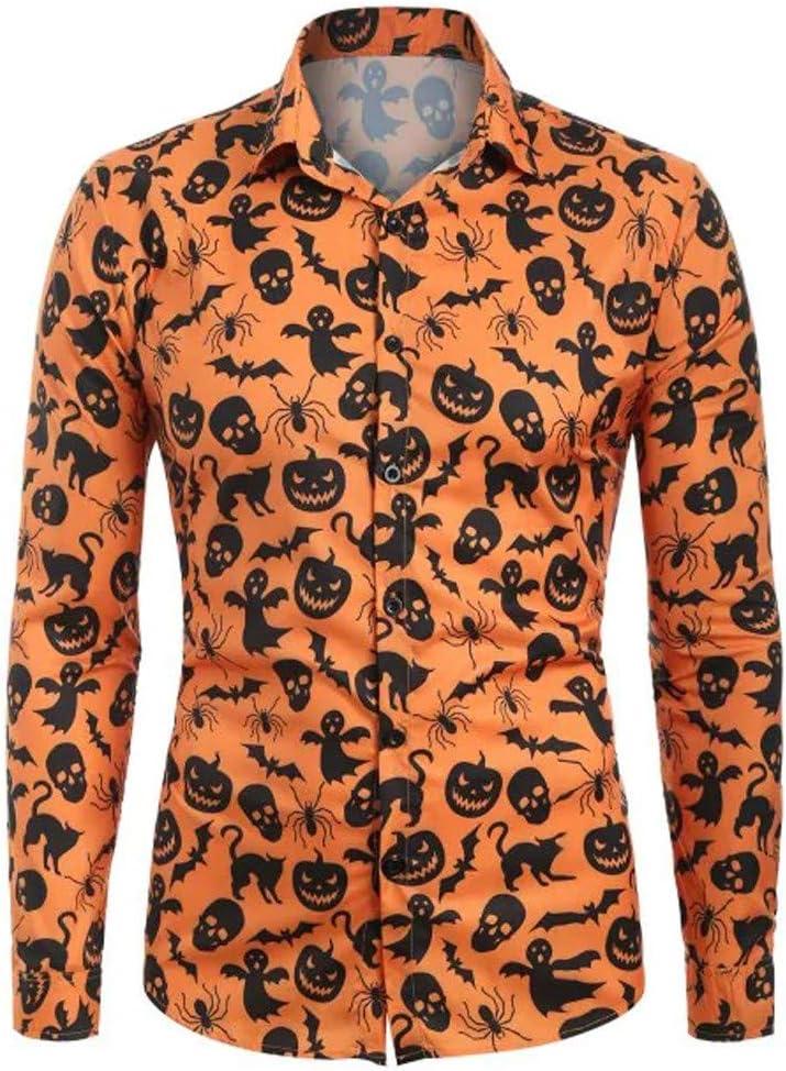 Men/'s Halloween Shirt Pumpkin Skeleton Sleeveless Tee T-Shirt 18774-42700