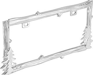 nature license plate frame
