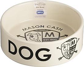 Mason Cash Coat of Arms Stoneware Dog Bowl, 500ml, White 28481