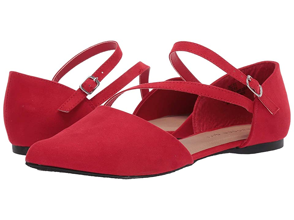 Madden Girl Eelliee (Red Fabric) Women