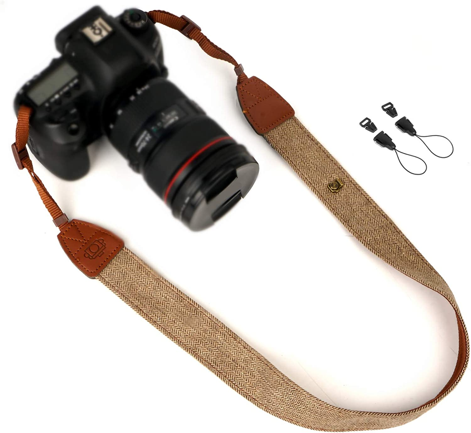 Max 73% OFF WANBY Canvas Neck Shoulder Limited price Camera Release with Buckl Strap Quick