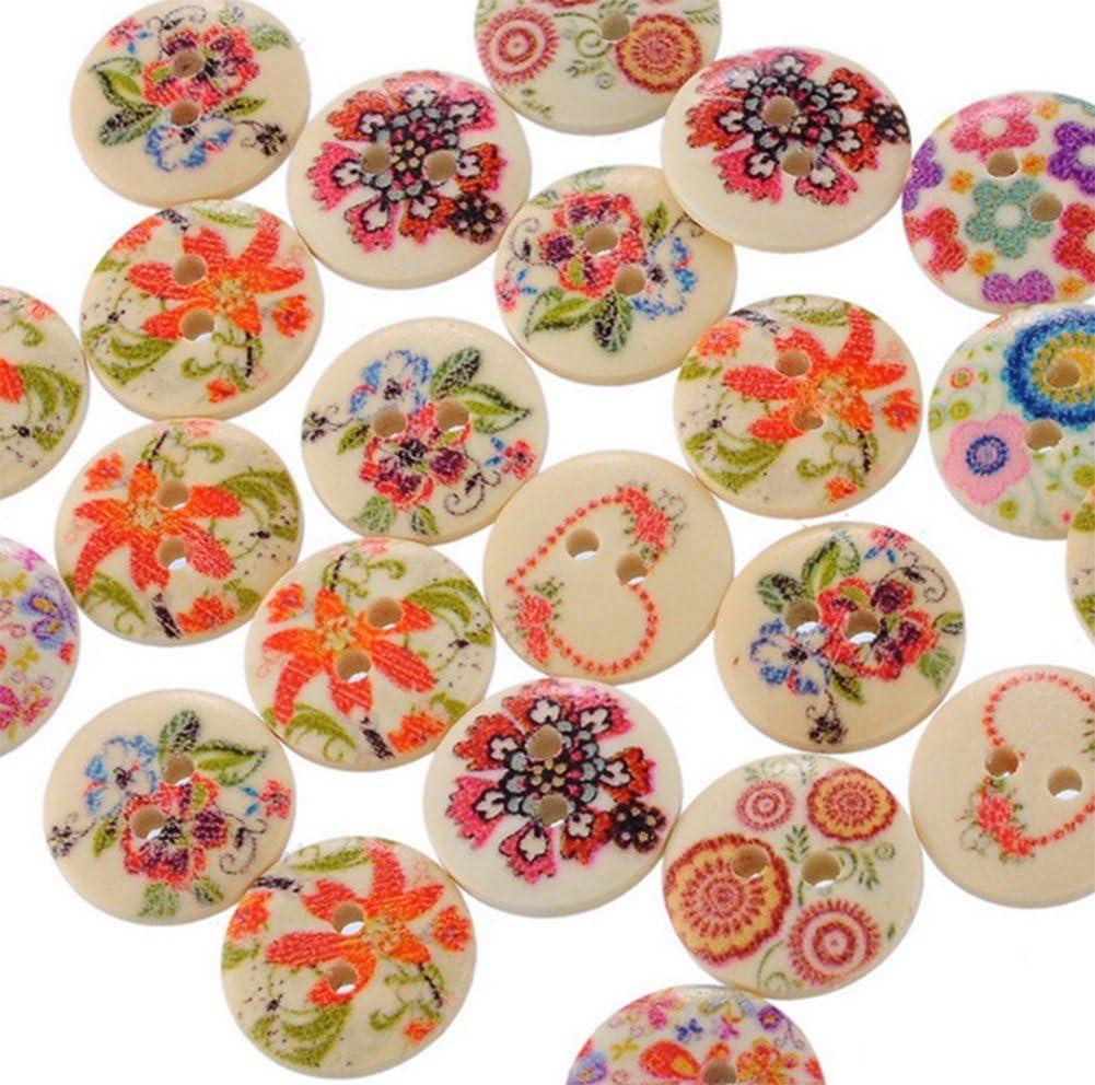 100Pcs lot Da.Wa Resin Buttons Oakland Mall Industry No. 1 Scrapbooking DIY Supplies Cos For