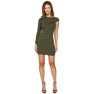 DSQUARED2 Wool Jersey Dress (Green 2) Women