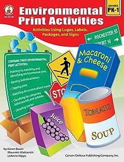 Environmental Print Activities, Grades PK - 1