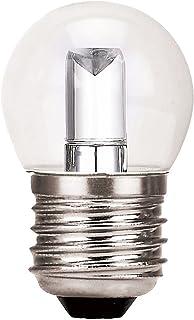 24 PK Satco S9162 1.2 watt LED; S11; Ceramic Blue; Medium base; 120 volts