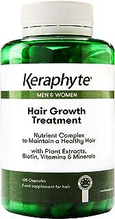Keraphyte - Tratamiento Anticaída y Crecimiento del Cabello | con Extractos de Plantas Vitaminas y Minerales con una alta...