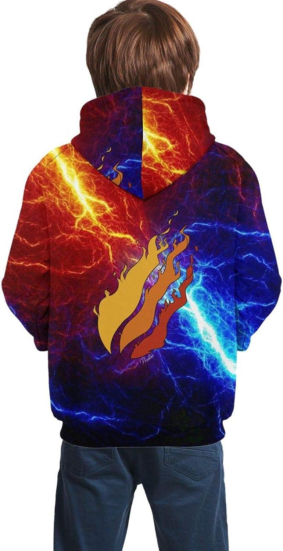 LYNIAOLYN Boys Hoodie Sweatshirts Youth Kids Boys Pullover Hooded Sweater