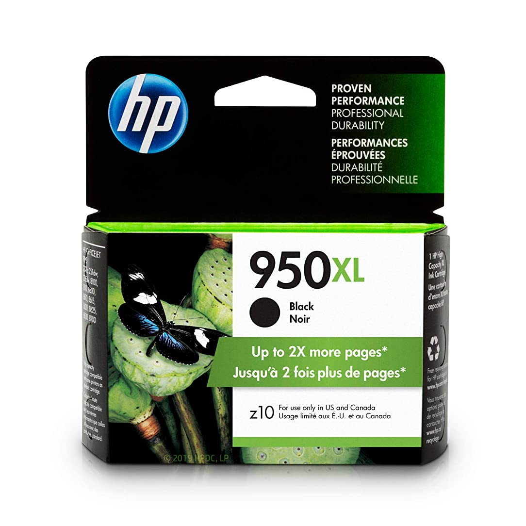 HP 950XL Black Ink Cartridge (CN045AN) cqf17490609