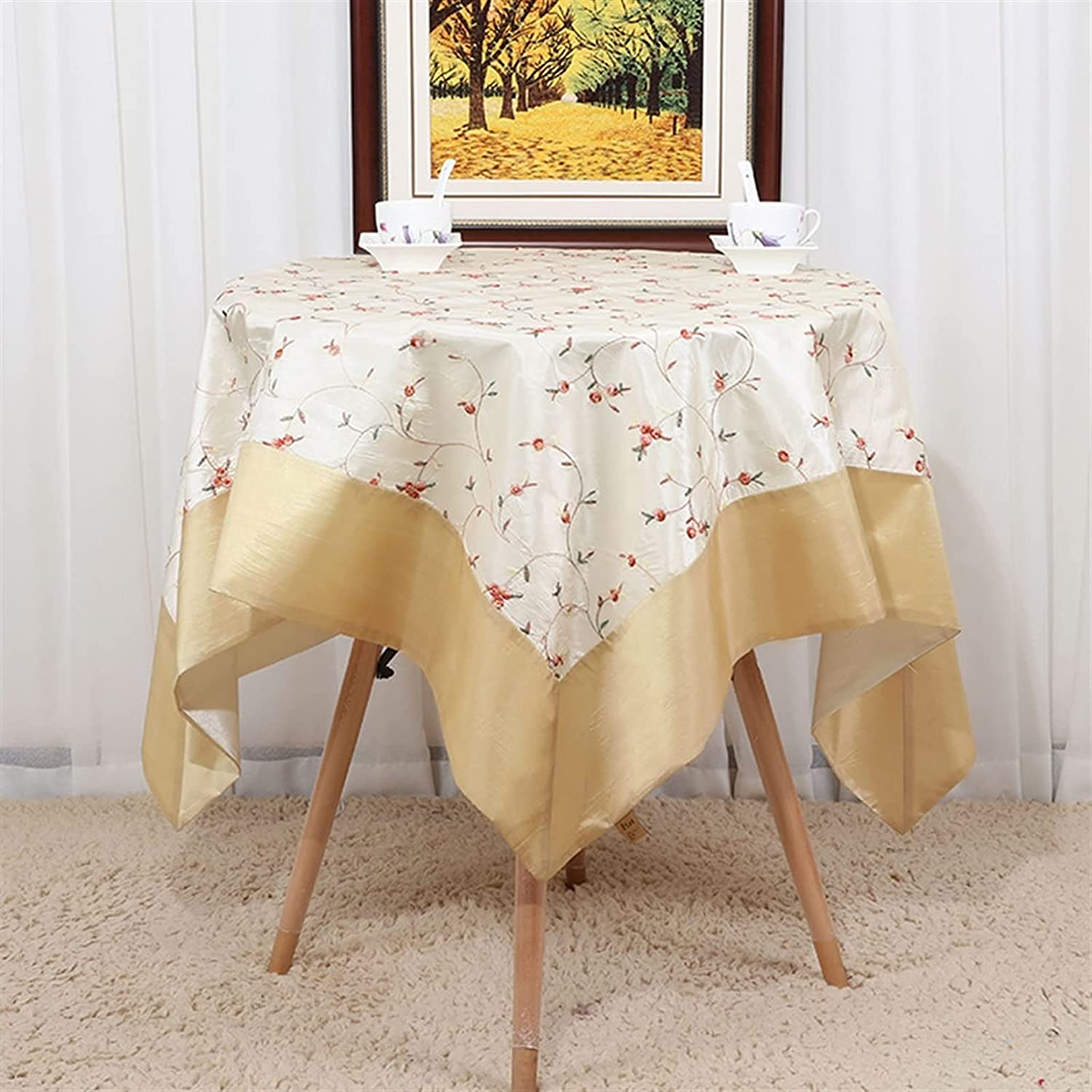 Max 72% OFF WENLI Safety and trust Tablecloths Handmade Simple Christmas Kitchen New Year Hom