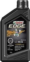 Castrol 06246 EDGE 10W-40 Advanced Full Synthetic Motor Oil, 1 Quart, 6 Pack