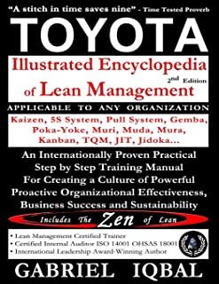TOYOTA Illustrated Encyclopedia of Lean Management: An Internationally Proven Practical Step by Step Training Manual for C...