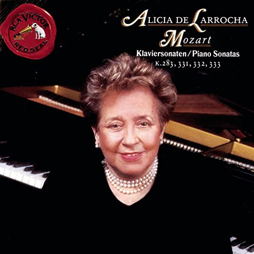Mozart: Klaviersonaten/Piano Sonatas K.283, 331, 332, 333 by Alicia De Larrocha on Amazon Music - Amazon.com