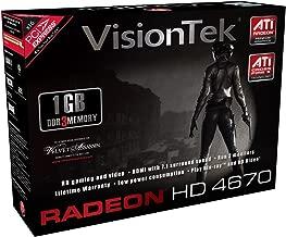 VisionTek ATI Radeon HD 4670 1 GB DDR3 PCI Express Graphics Card 900251