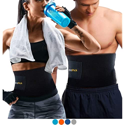 FIT PICK Slimming Belt |Slim belt for Fat Burning |Comfortable Soft, Neoprene Material |Improved Helps Lose Weight Effectively For Men and Women