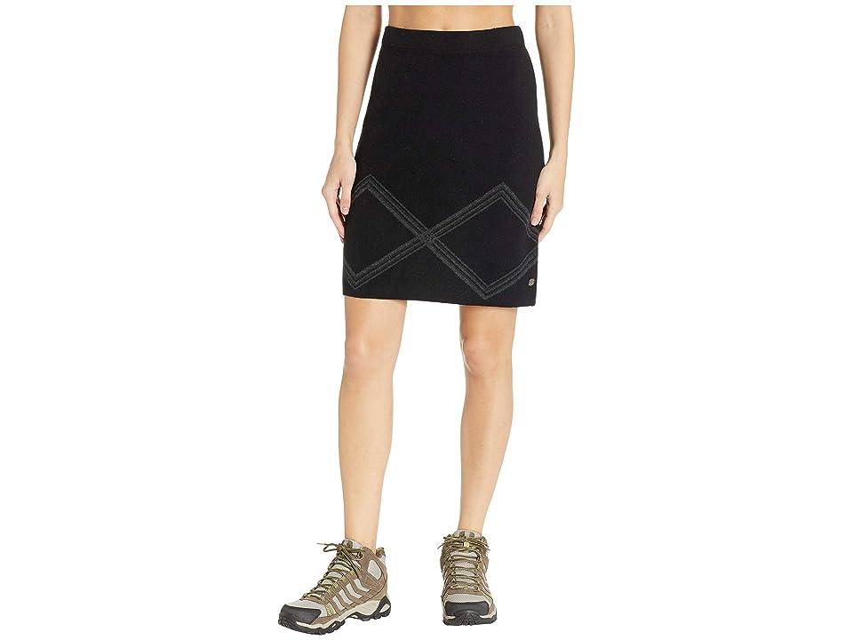 Royal Robbins All Season Merino Skirt (Jet Black) Women