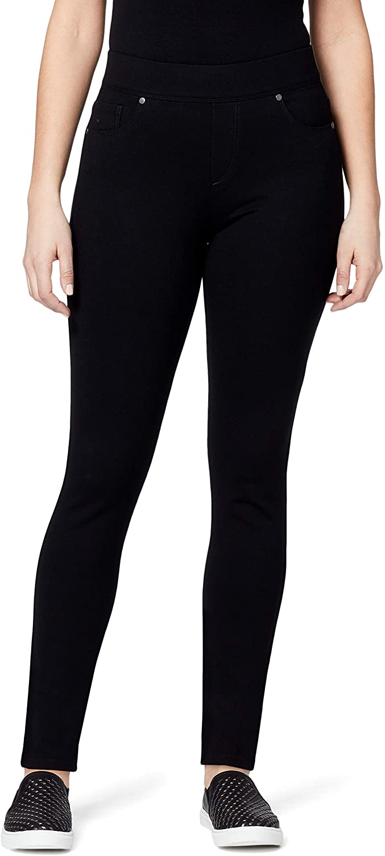 Gloria Vanderbilt Women's Avery Slim Pull on Pant