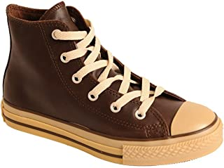 Converse Youth Chuck Taylor Hi Leather Shoes Brown/Gum
