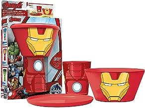 St182 - Stacking Meal Set - Iron Man (avengers)
