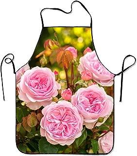 Fashion Pretty Roses Kitchen Apron for Women Art Apron Dress Men Cooking Apron BBQ Apron,David Austin Rose29