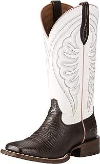 lizard square toe boots