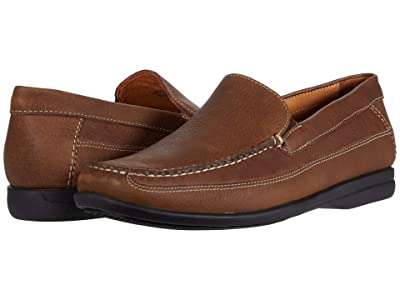Johnston & Murphy Locklin Venetian (Tan Oiled Full Grain) Men