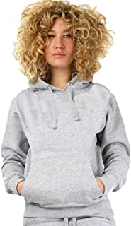 Sudadera con capucha para mujer, de manga larga, con capucha, de forro polar
