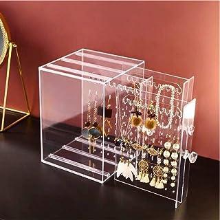 GGJIN Earrings Display Organizer Jewelry Storage Holder Box (Color : Type U)