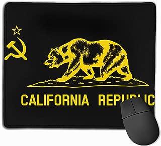 Flag of Communist California Republic Mouse Pad Mat
