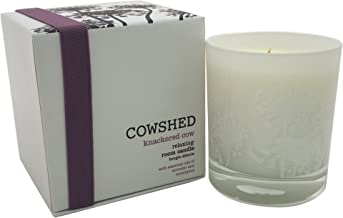 Cowshed Knackered Cow Relaxing Room Candle for Women, 8.11 Ounce