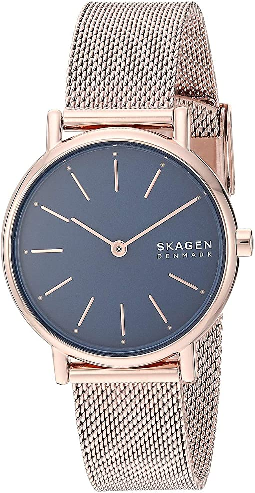 SKW2837 Rose Gold Stainless Steel Mesh