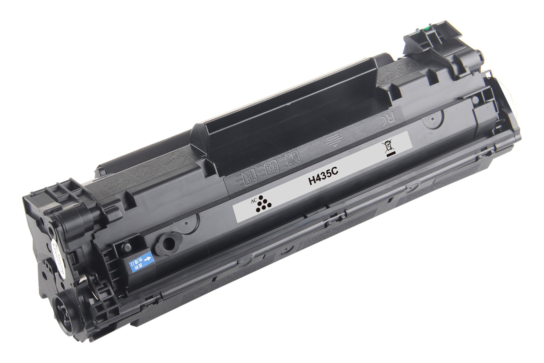 Hewlett Packard CB435A用アルパカートリッジCB435Aレーザーカートリッジ - ブラック