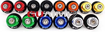M8 Swingarm Spools Sliders For Kawasaki Z900 2017