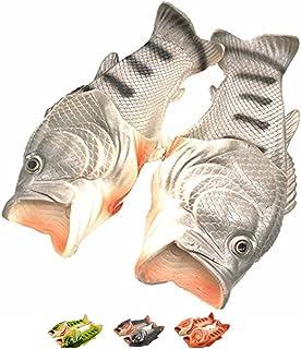 Pesce Forma Spiaggia al Coperto Pantofole Unisex Bagno Slittata Indossare Accogliente Scarpe Creativi Bambini Divertente p...