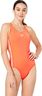 Speedo Women's Superiority Medalist ONE Piece, Flare/White