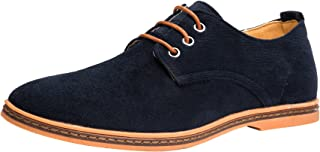 OUTDOOWALS Mens Casual Oxford Urban Laceup Derby Shoes