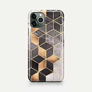 Covery Cases Silicon Back Cover Brown Marble For Iphone 11 Pro - Multi Color